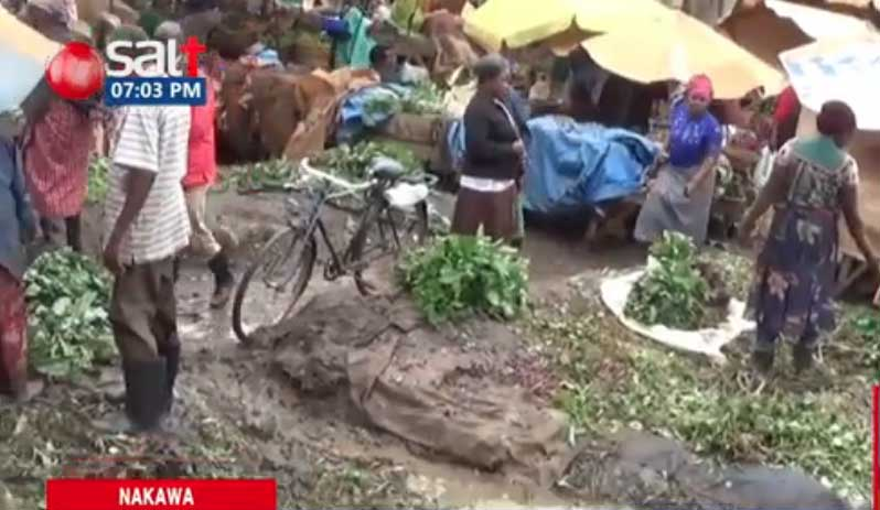 Customers Run A Way, As Nakawa Market Becomes Garbage Infested & Stinky