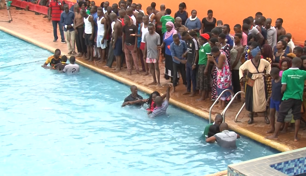 Water Baptism at HPMI