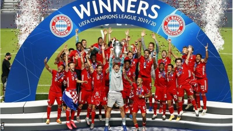 Bayern beat PSG to win Champions League