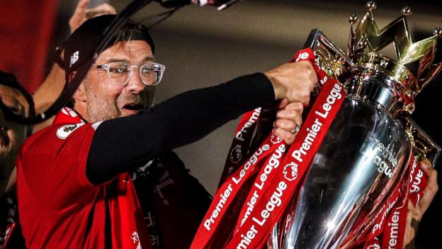 LMA awards: Liverpool's Jurgen Klopp named manager of the year