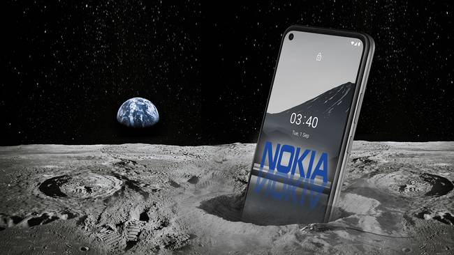 NASA and Nokia are putting a 4G network on the moon