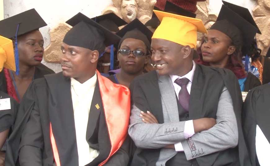 PR. ALOYSIUS BUJJINGO GRADUATES AT KAYIWA INTERNATIONAL UNIVERSITY AFTER 3 YEARS