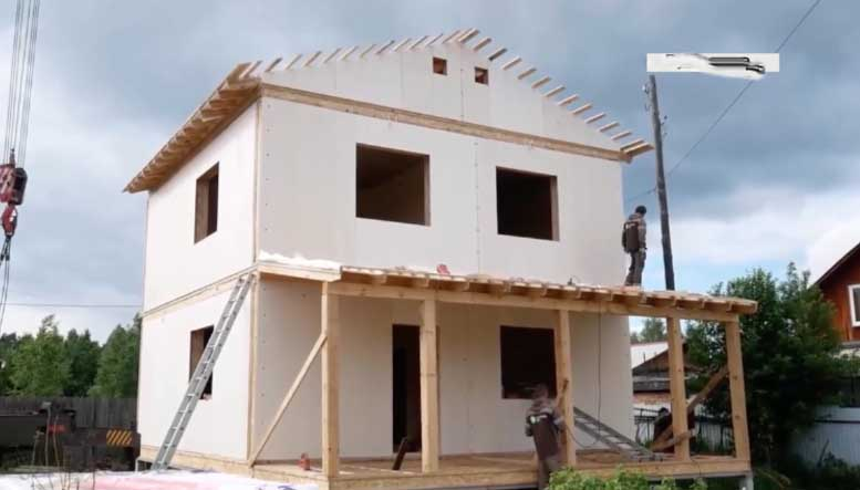 New Technology- Constructing a House with in a Day